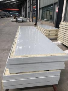 彩钢聚氨酯冷库板安装